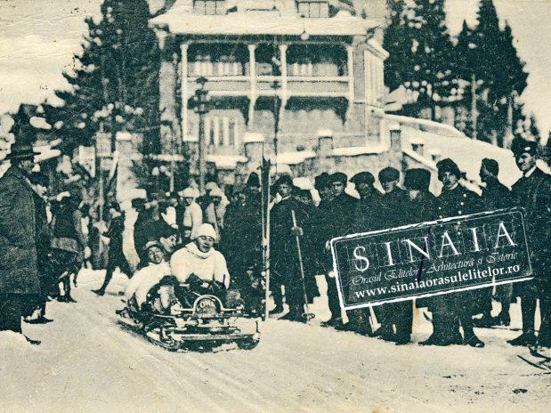 Un secol de tradiţie: sporturile de iarnă din Sinaia